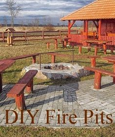 Do it Yourself Installation of Fire Pits