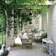 Love, love, love it!!!!    #countryliving #dreamporch