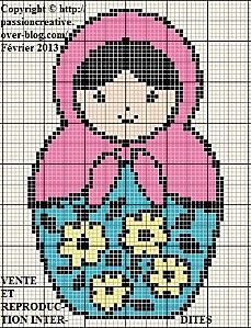 Free Matryoshka Pattern