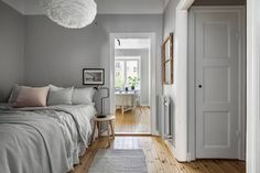 Bedroom in a niche - via Coco Lapine Design blog