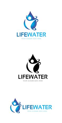 Life Water Logo by @Graphicsauthor