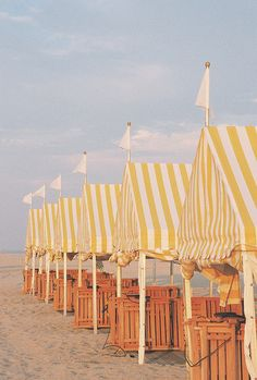 Beach Tents, Cape May, NJ