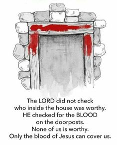 Image result for god is greater he will keep us virus blood doorposts