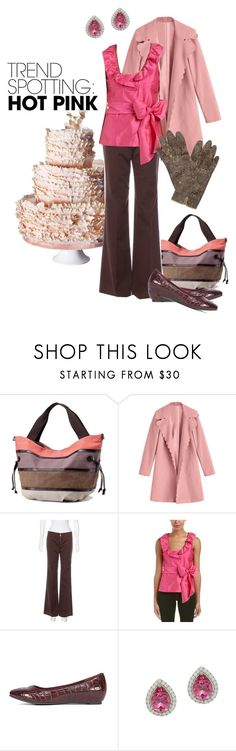 Layer it by maria-kuroshchepova on Polyvore featuring Sara Campbell, Tory Burch, Cliffs by White Mountain, contestentry and NYFWHotPink