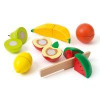 Set de 6 fruits en bois à découper Imagibul création Oxybul