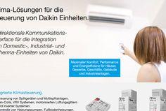 Bidirektionale Schnittstellen für Daikin Klimaanlagen, exklusiv von Zennio: http://zennio-deutschland.de/produkte/klima/klic-di http://zennio-deutschland.de/produkte/klima/klic-da http://zennio-deutschland.de/produkte/klima/klic-dd