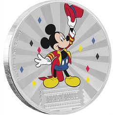 NGC PF70 FIRST RELEASES DONALD DUCK DISNEY MICKEY /& FRIENDS CARNIVAL COIN