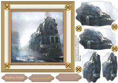 Northern Night Train  on Craftsuprint - View Now!