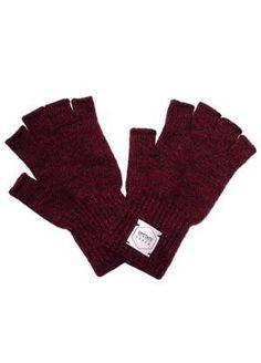 L:C Babe   Upstate StockFingerless Ragg Wool Gloves - Women's