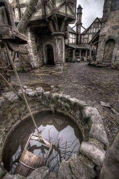 Abandoned Village in Scotland.