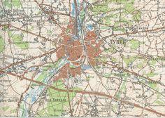 Leuven stafkaart, USSR, 1/100.000, Leuven M-31-46, 1976