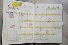 Vanessa a její blog: Můj bullet journal - Červen