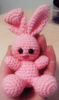Small Bunny - free crochet pattern by Ambros Crochet