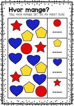 Jeg øver - tall og regning by LaerMedLyngmo Teacher Pay Teachers, Math, Cards, Math Resources, Maps, Early Math, Playing Cards, Mathematics