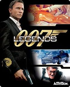 007 Legends (Nintendo Wii U) Think of this as a greatest hits collection, 007 style. James Bond 007 Legends combines six of the super agent's biggest movies into an original unifying storyline filled with classic missions and unforgettable action. Xbox 360 Video Games, Latest Video Games, Wii Games, Free Games, Wii U, Nintendo Wii, James Bond, Skyfall, 007 Contra Goldfinger