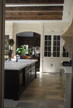 Classic - again, love floors & cabinets