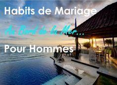 Habits de Mariage à la Plage Pour Hommes - Outside The Box Wedding