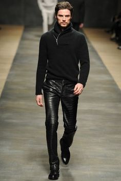 leather pants for men fashion