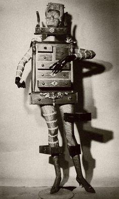 Early 20th C Dada/Surreal theatre costume Chintz of Darkness: Costume Brawl