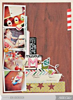 Made with @Abigail Phillips Mounier Calico December kit and add-ons, 34th Street!