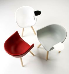 Tulip Multifunctional Armchairs by Chairs & More
