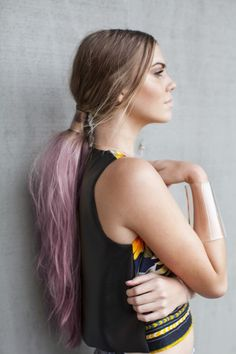 Pastel Pony #ponytail #pastel #hair