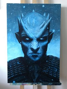 The Night King (Night's King in the books), the enigmatic but powerful leader of the White Walkers and their army of the dead.  Likely began life as a mortal human (maybe even a Stark and Lord Commander of the Night's Watch), until the Children of the Forest used powerful unknown magicks to make him a living weapon for use against the First Men.