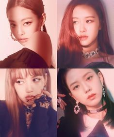 They look so good and elegant in the black dresses Kpop Girl Groups, Korean Girl Groups, Kpop Girls, Divas, Blackpink Square Up, Black Pink Kpop, Blackpink Photos, Blackpink Fashion, Jennie Blackpink