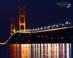 Mackinac Bridge -- Pure Michigan Photo Contest by brian