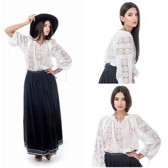 Delicate, elegante and unique<3 #romanianblouse #embroideredblouse