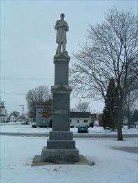 Civil War Memorials in Illinois - Tampico, IL Rock Falls, Largest Countries, Back In Time, Illinois, Statue Of Liberty, War Memorials, Memories, World, River