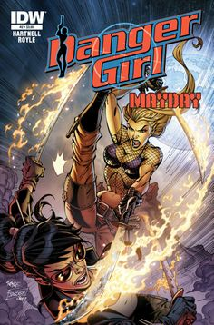 "Danger Girl: Mayday #2 (of 4) Andy Hartnell (w) • John Royle (a & c) After the most SHOCKING and UNEXPECTED comeback in the history of Danger Girl, the only question that remains is: ""What happens NEXT?!"" The second piece of that deadly puzzle can be found here in the latest chapter of the original and unsurpassed Danger Girl series! FC • 32 pages • $3.99"