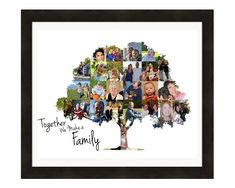 Personalized Family Tree Photo Collage, Family Tree Print, Birthday Gift - Custom Made with Your Digital Pictures - Individuelle, personalisierte Stammbaum Wand Kunst Bild aus Ihre Bilder Geschenk, personalisierte G - Family Tree Print, Family Tree Photo, Family Tree Wall, Tree Wall Art, Photo Tree, Family Tree Gifts, Tree Art, Family Trees, Personalised Family Tree