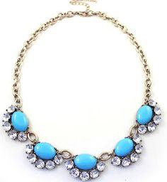 Ocean Bubble Crystal Necklace