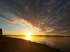 Midnight sun, Lund, Norway
