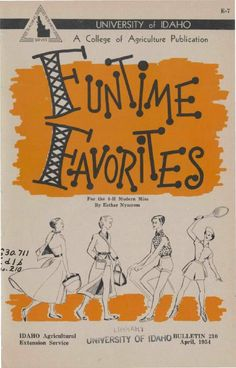 Funtime favorites (1954)  4-H publication on how to make clothes for sports