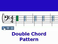 How to play Double Chord Pattern in Brother John Song