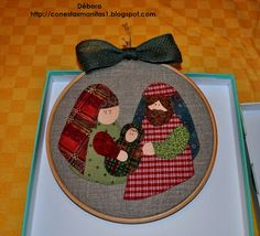 Decoración navideña. Gitanitas Christmas Crunch, Christmas Makes, A Christmas Story, Christmas Holidays, Felt Christmas Decorations, Xmas Wreaths, Xmas Ornaments, Nativity Crafts, Christmas Projects