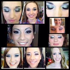 Prom Makeup by Shae  #prom2k14#beauty#merlenorman