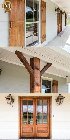 old farmhouse exterior design ideas 41 ~ mantulgan.me old farmhouse exterior design ide. Farmhouse Exterior Colors, Exterior House Colors, Exterior Design, Modern Exterior, Home Renovation, Home Remodeling, Stommel Haus, Ranch House Remodel, Surface Habitable
