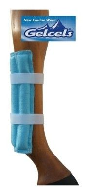 N.E.W New Equine Wear Gelcel Ice Cooling Leg Pads Wraps - Eventing Cross Country