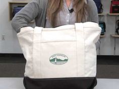 Newport Cotton Zippered Tote | Gemline | Promotional Products  Conference & Incentive Travel www.gemline.com
