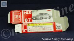 TOMICA 087D NISSAN CEDRIC Y34 | 1/63 | ORIGINAL BOX ONLY | ST9 1999 CHINA (30th)