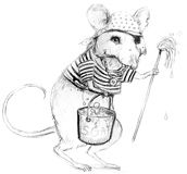 Animal Coloring Pages from Jim Harris Picture Book Sketches Pirate Coloring Pages, Animal Coloring Pages, Cartoon Rat, Vintage Coloring Books, Pencil Sketch Drawing, Digital Stamps, Rats, Sailor, Stamping