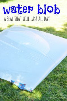 Durable and Simple Water Blob - Eclectic Momsense