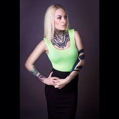 International Tattoo Model @teya_salat   Websta