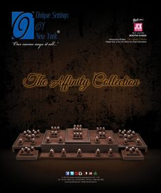 """""""THE AFFINITY COLLECTION"""" AS SEEN IN JCK & INSTORE JUNE 2013 ISSUES ..."""