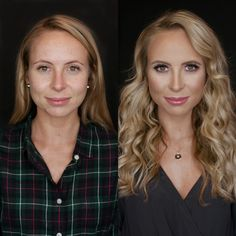 """Natural look. A really easy, """"no makeup-makeup"""" look. Celebrity Hairstyles, Hairstyles Haircuts, Makeup Before And After, All Natural Makeup, Good Attitude, Hot Hair Styles, Photo Makeup, Hair Painting, Rainbow Hair"""