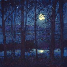 Summer Moonlight by Tom Perkinson