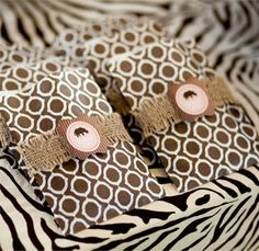 Safari Party Ideas - should have had these at my birthday party to match your safari suit